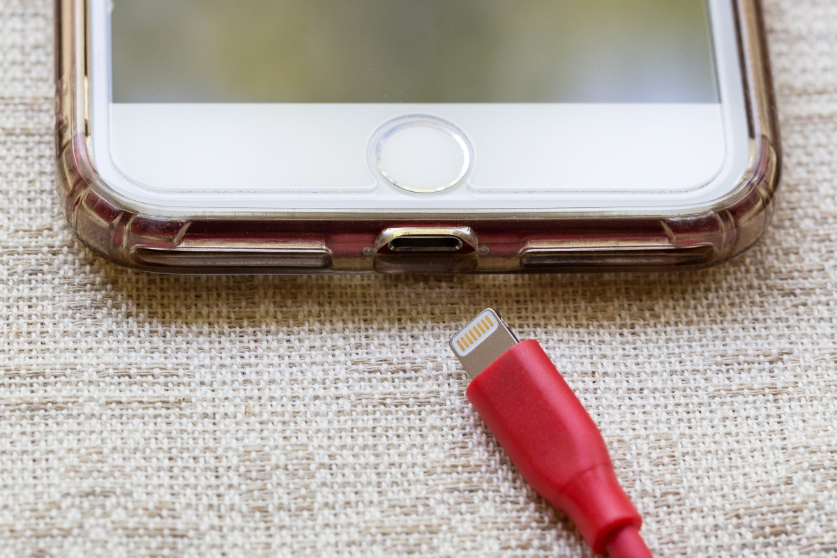 charging on iPhone
