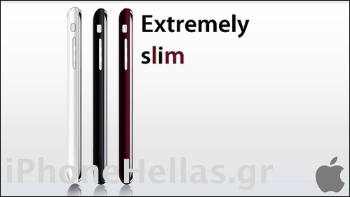 iPhone 3G slim 3 colors iPhoneHellas