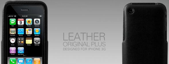 black-leather-iphone-case