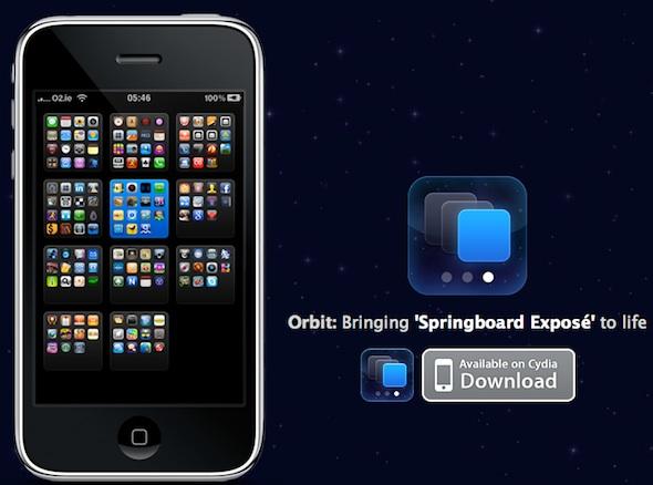 Orbit iPhone Springboard Expose