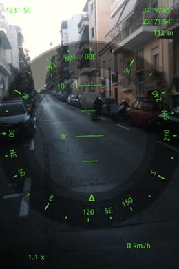 Spyglass iPhone 3GS fun augmented reality tool