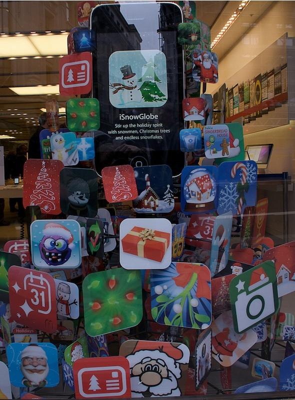 iPhone Christmas tree