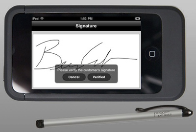 Apple iPod Touch POS EasyPay system