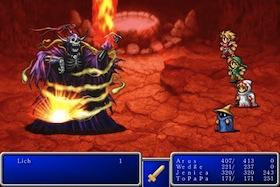Final Fantasy iPhone pic2