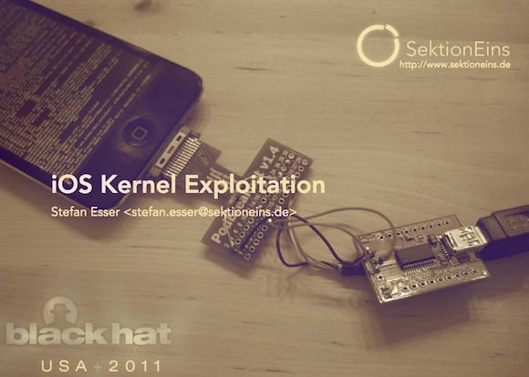 Exploiting The iOS Kernel