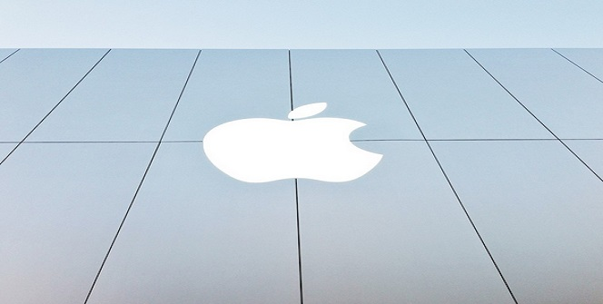 Apple building logo
