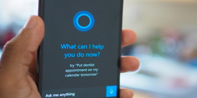 Cortana on iPhone