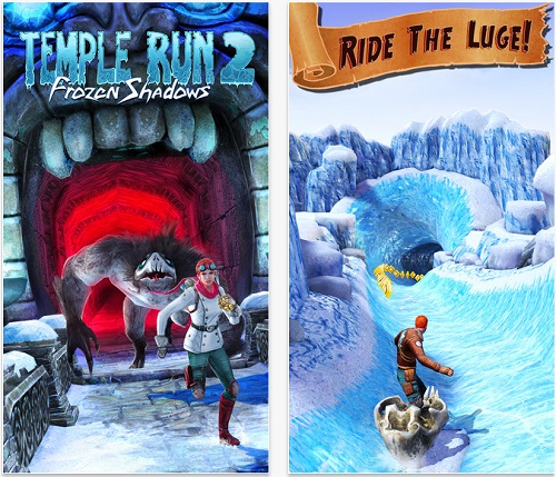 temple run 2 frozen