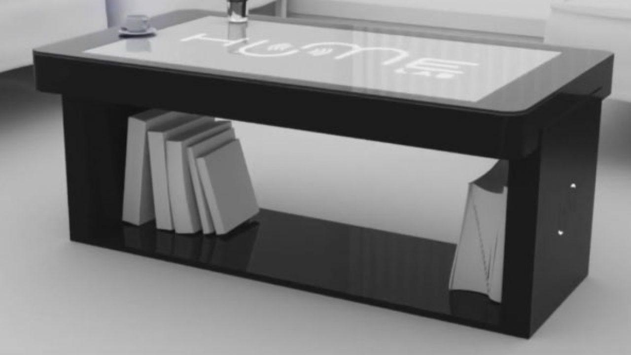 humelab tabata smart coffee table