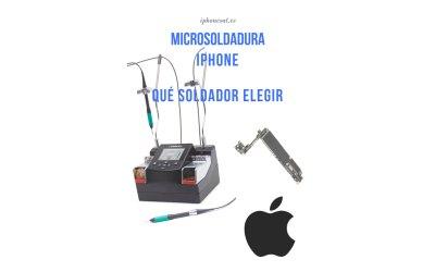 Comprar un soldador para reparar iPhone, recomendaciones