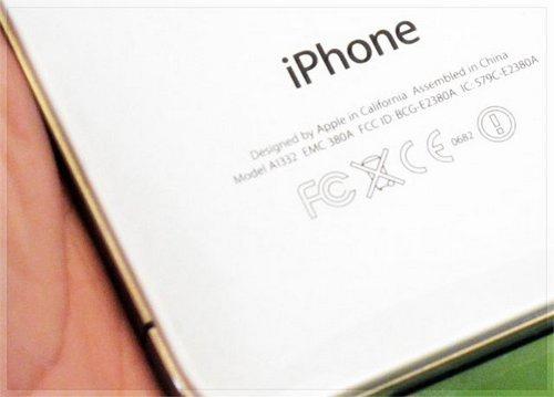 Iphone 4 bianco hong kong foto 6