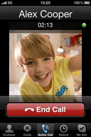skype applicazione iphone