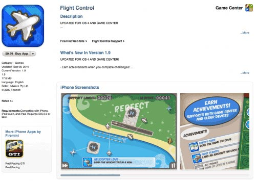 icona Game Center applicazioni Iphone