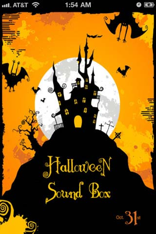 Halloween suoni iphone