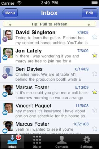 Google voice app iphone 4