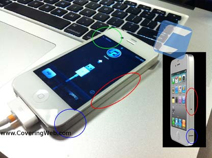 iPhone 4 bianco Verizon: queste le foto?
