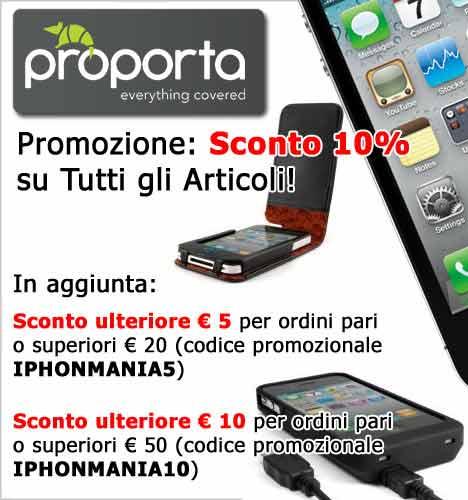 Promo proporta accessori iphone scontati