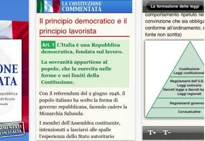 Costituzione Italiana sempre nel taschino