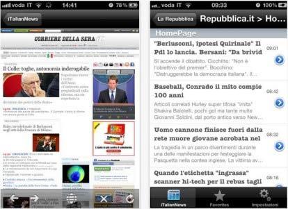 Notizie in tempo reale dall'Italia: come averle su iPhone
