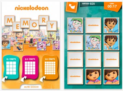 Nickelodeoon Memory