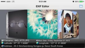 iPhone: come cambiare la data delle foto tramite EXIF (Photo) Editor