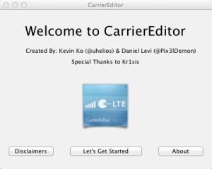 CarrierEditor: come cambiare logo operatore iPhone senza Jailbreak