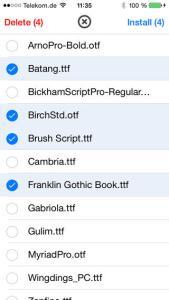 iOS 7: come installare font personalizzati senza Jailbreak