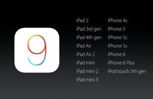 Apple iOS 9: alcune novità molto importanti