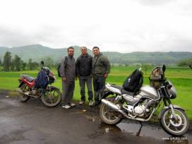 On the way to Rajgad