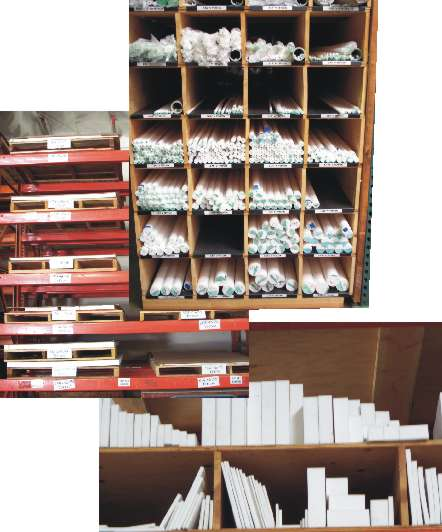 Virgin PTFE sheets and rods