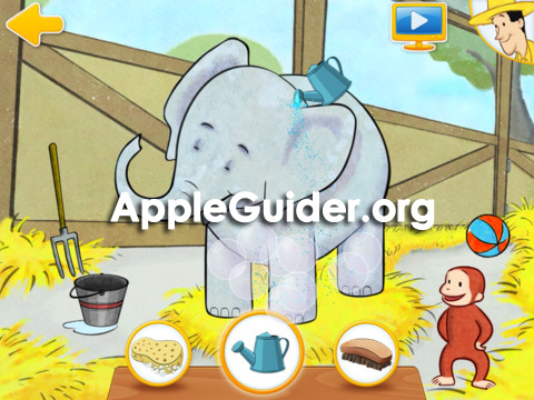 Curious George at the Zoo for iPad cracked ipa