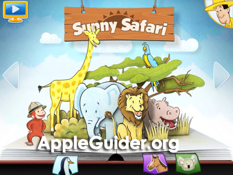 Curious George at the Zoo for iPad ipa