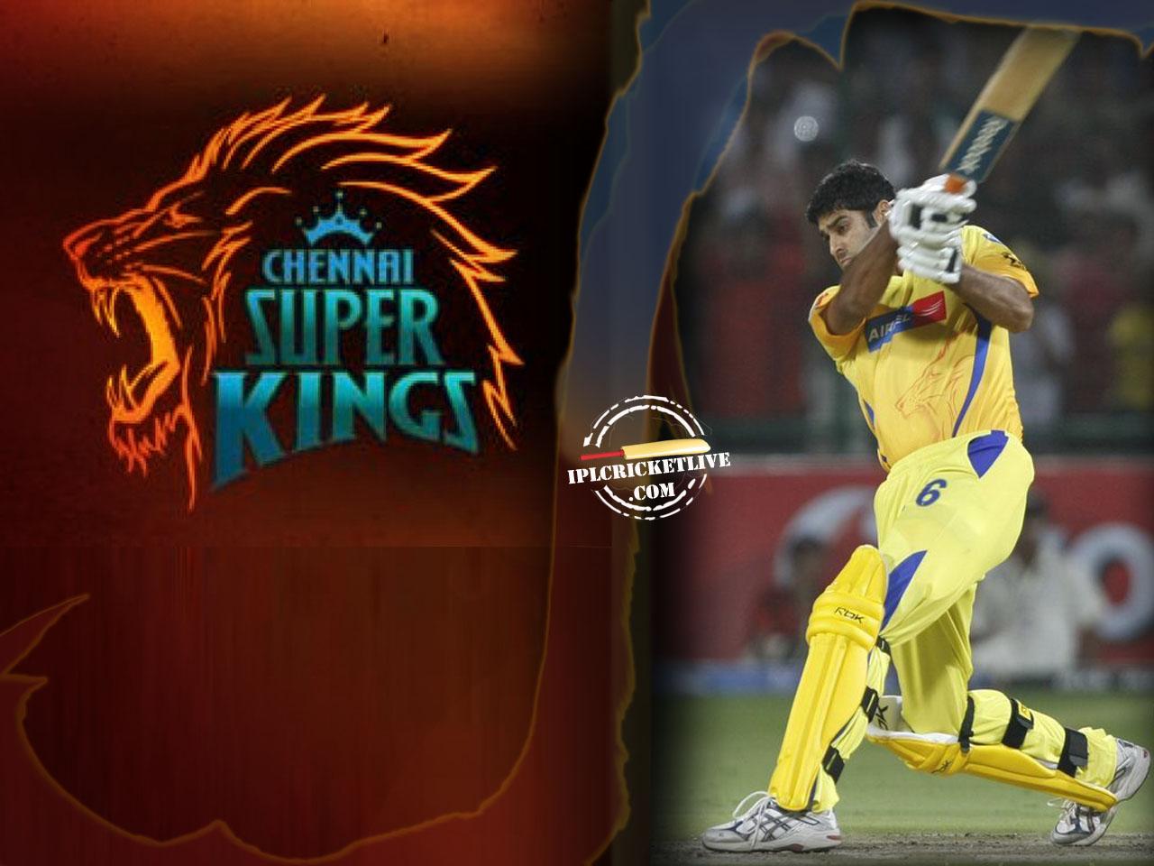 IPL Chennai SuperKings Wallpaper