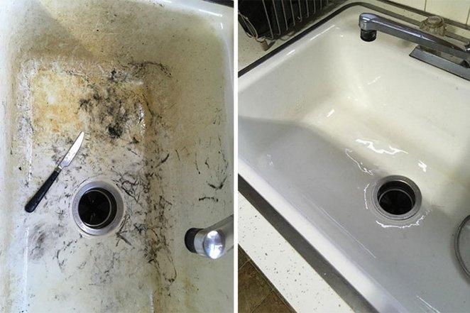 22 fois où des choses ont été complètement transformées par le nettoyage
