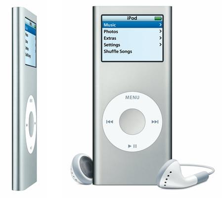 iPod Nano 4G dividido por 2