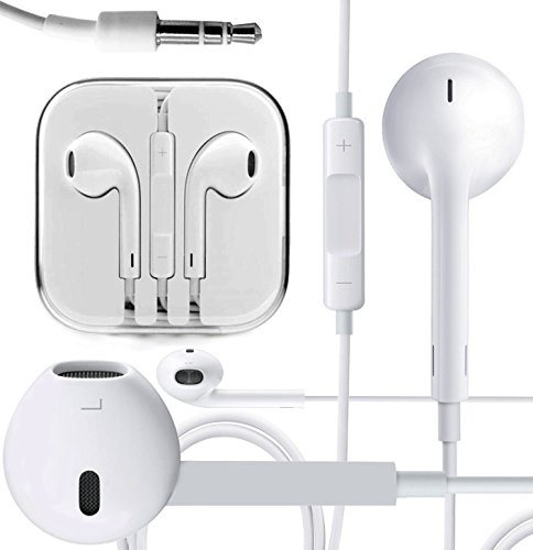 72b8d4eb561 Magic Global Gadgets – 100% original Apple marca auriculares EarPods de  auriculares para iPhone 5 5 C 5S, 4, 4S, iPod Touch, iPod Nano 100% Genuine  Apple ...