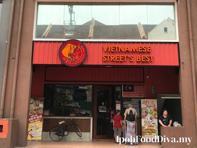 Vietnamese Taste Vietnamese Street's in Ipoh