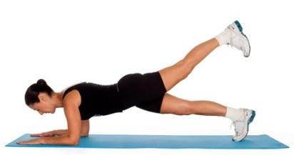 Image result for Plank Leg Raises