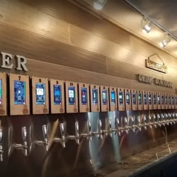 self-service beer bar whistle and keg ipourit