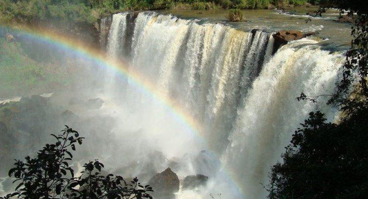 Salto Ñacunday Paraguay