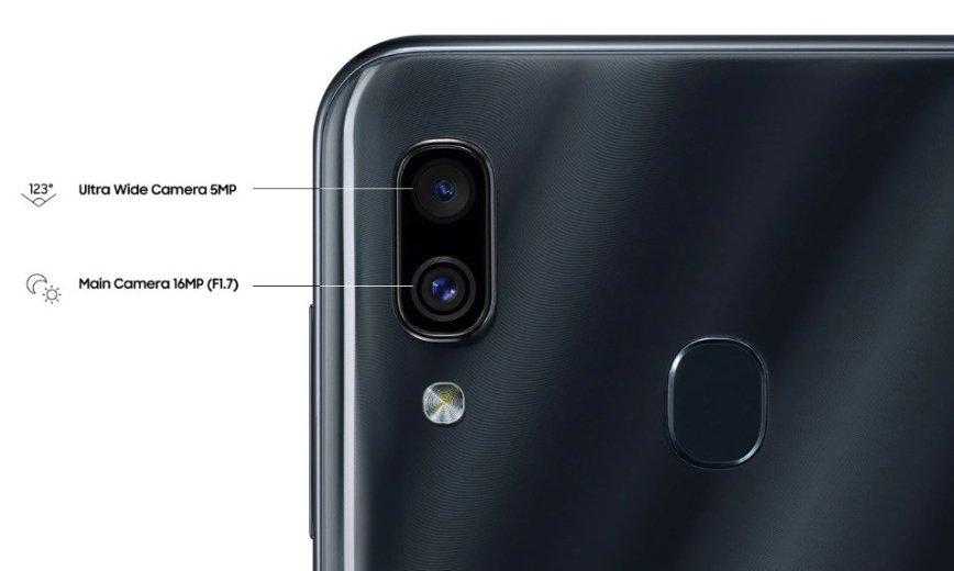 Detalles del Samsung Galaxy A30