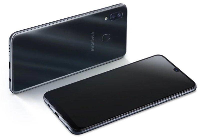 Diseño del Samsung Galaxy A30