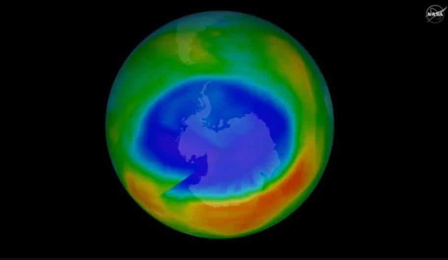 capa de ozono sanándose