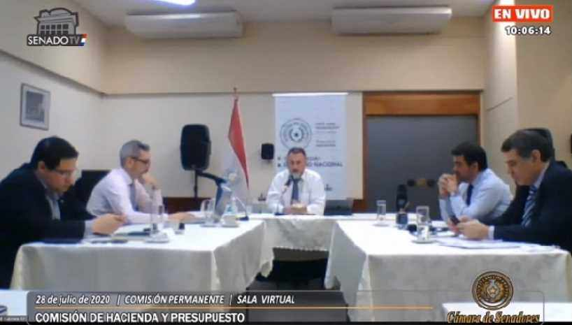 Hacienda y Comisión del Senado analizaron nuevas deudas externas a ser contraídas
