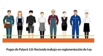 Pagos de Pytyvõ 2.0 Hacienda trabaja en reglamentación de Ley