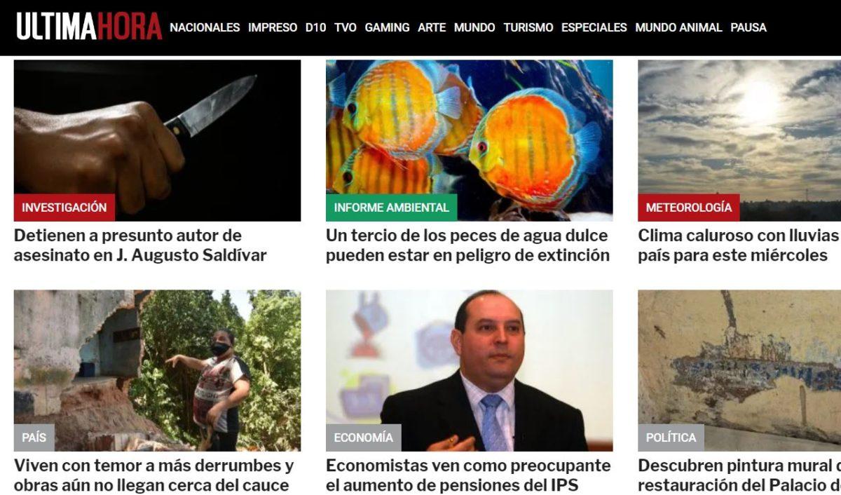 Diario Ultima Hora Paraguay PY Noticias Deportes