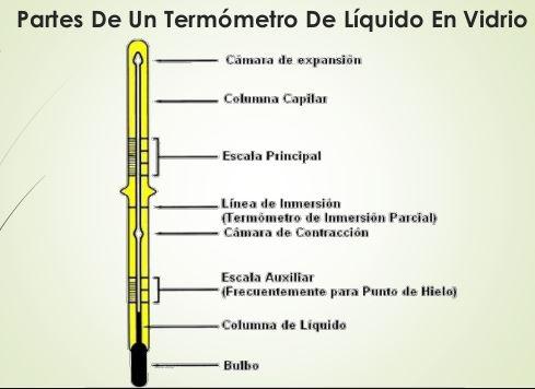Qué es un termómetro - Partes de un termómetro