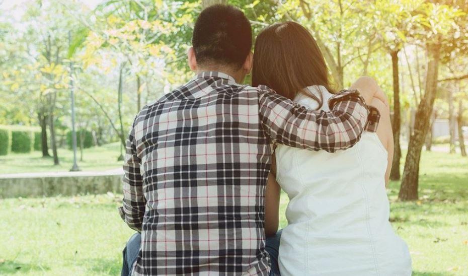 Se enamoraron en el predio del Ineram cuidando familiares
