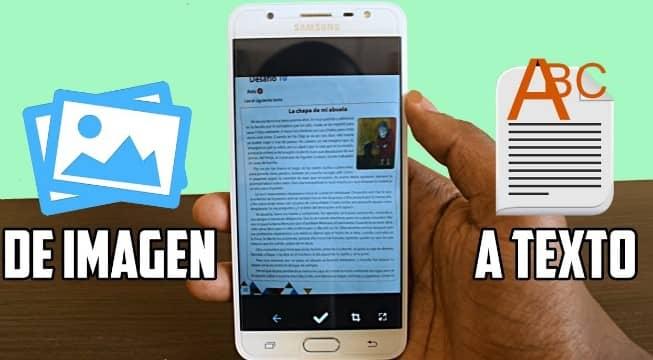 Aplicaciones para pasar imágenes a texto