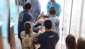 Trabajador cayó de 15 metros de altura del edificio de Senatur